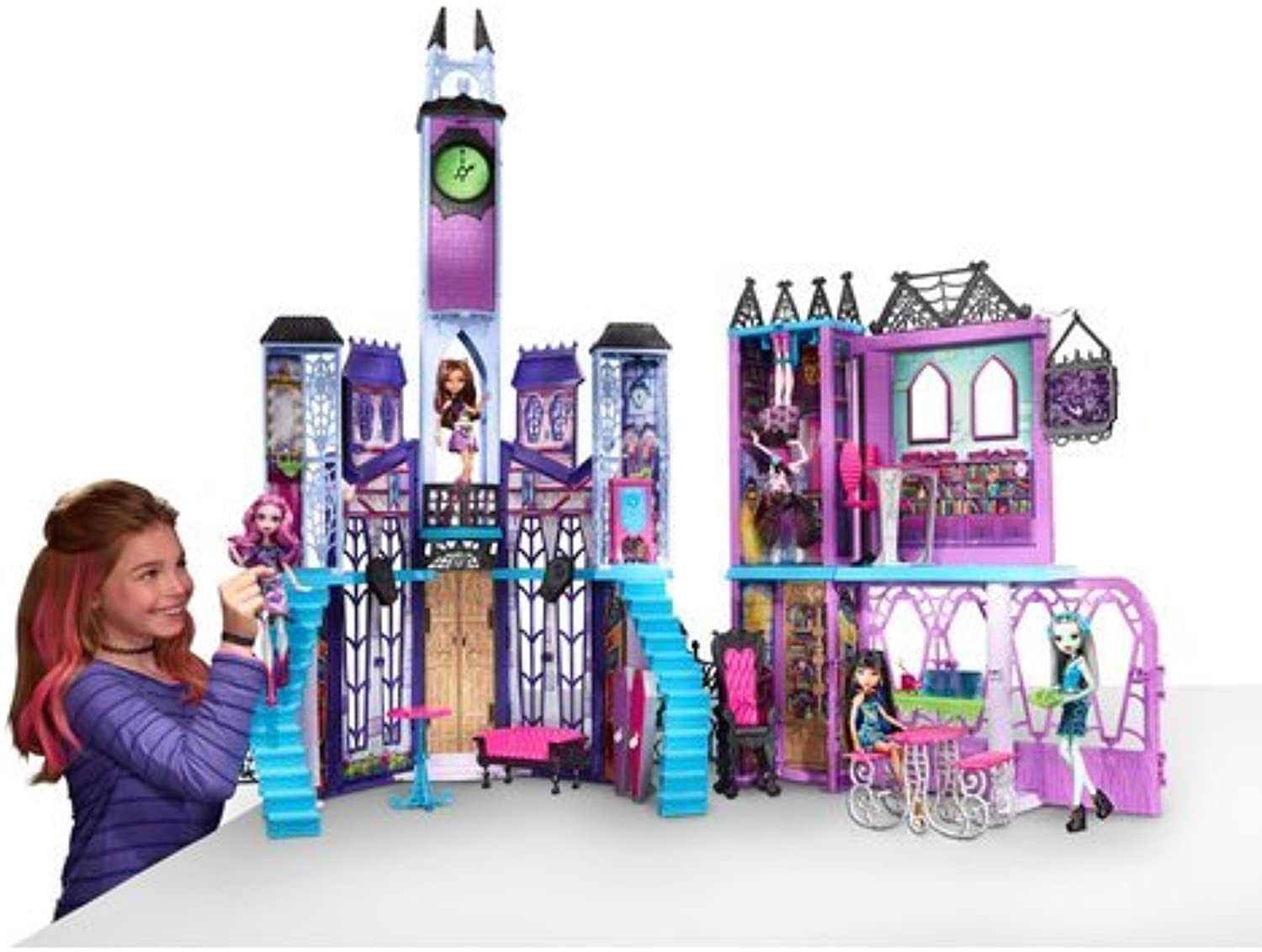 NEW Monster High Haunted School Playset