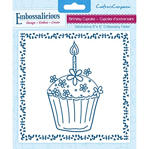 Crafter/'s Companion Embossalicious A4 Emboss Folder  Cherry-licious   EF4-CHRRY