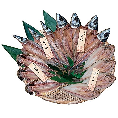 プレーリーファーム 五島灘の塩 国産無添加干物 詰合せ PFHI-009 6977-582