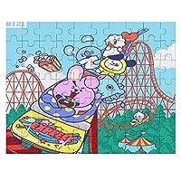 BTS防爆ユースリーグ パズル35-1000ピース子供用アダルトボックスクラシックでかわいいポプラパズルギフトは,壁画としてのモダンな家の装飾に適しており,子供,友人,恋人へのギフトに非常に適しています.70 PCS