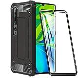 FANFO Custodia per Xiaomi Mi Note 10/Note 10 PRO, Nuovo [Rugged Armor] [Design Meccanica...