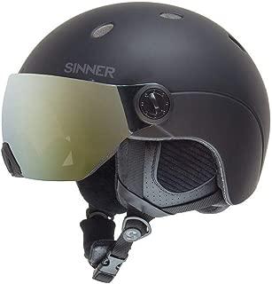 sinner ski helmet visor