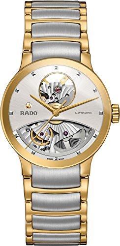 Rado donna Centrix–R30246013 argento Two-Tone Silver/Yellow Gold...