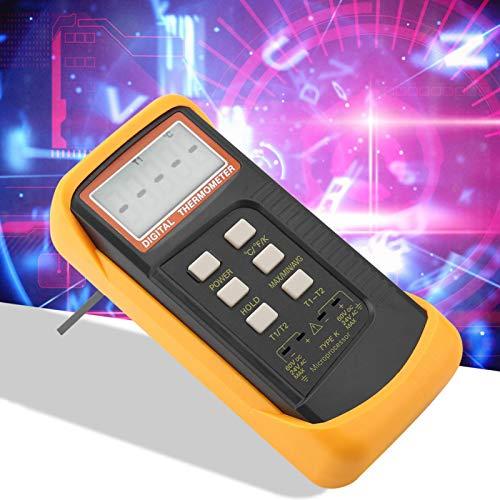 Termómetro Alarmas de medidor de temperatura Celsius, Fahrenheit y Kelvin para fábrica