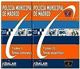 POLICÍA MUNICIPAL MADRID - Oferta Temario Completo - Edición 2019 - 2 Tomos