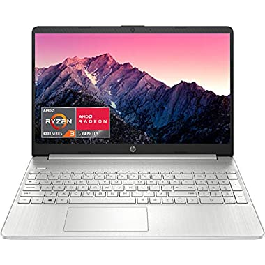 HP Pavilion Business & Student Laptop, 15.6″ FHD Display, AMD Ryzen 3 3250U Processor (Beats i7-7600U), 16GB RAM, 512GB SSD, AMD Radeon Graphics, Webcam, WiFi, Bluetooth, HDMI, Windows 10