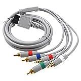AV Cable Componente para WII - TOOGOO(R)RCA YPbPr Cable AV componente de audio y video 1.7m para Nintendo WII