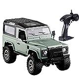 Todoterreno SUV del Coche de RC RC Buggy Desierto de Camiones Juguete eléctrico RC (Color : Verde, Size : One Size)