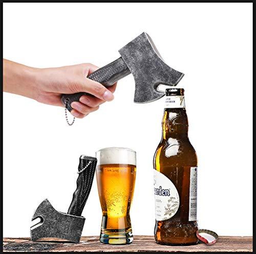 Abridor de botellas de cerveza, abridor de botellas 3D creativo, abridor de botellas de cerveza, abridor de botellas de cerveza, para decoración de bar/hogar y amantes de la cerveza de Marvel