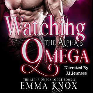 Watching the Alpha's Omega audiobook cover art