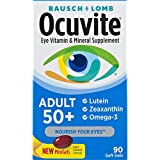 Best Eye Supplements - Bausch + Lomb Ocuvite Adult 50+ Vitamin Review