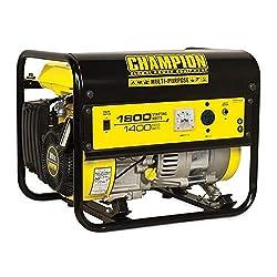 commercial Champion 424321 400W Portable Noiseless Recoil Gas Engine EPA Certified Carburetor … cobra e9500 generator