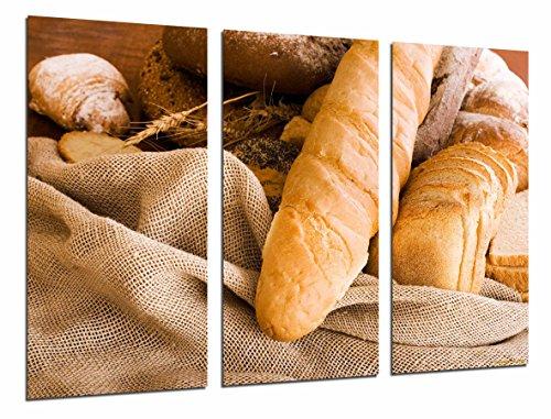 Foto-afbeelding, brood, panaderia, broodstang, oven, gebak, totale grootte: 97 x 62 cm XXL