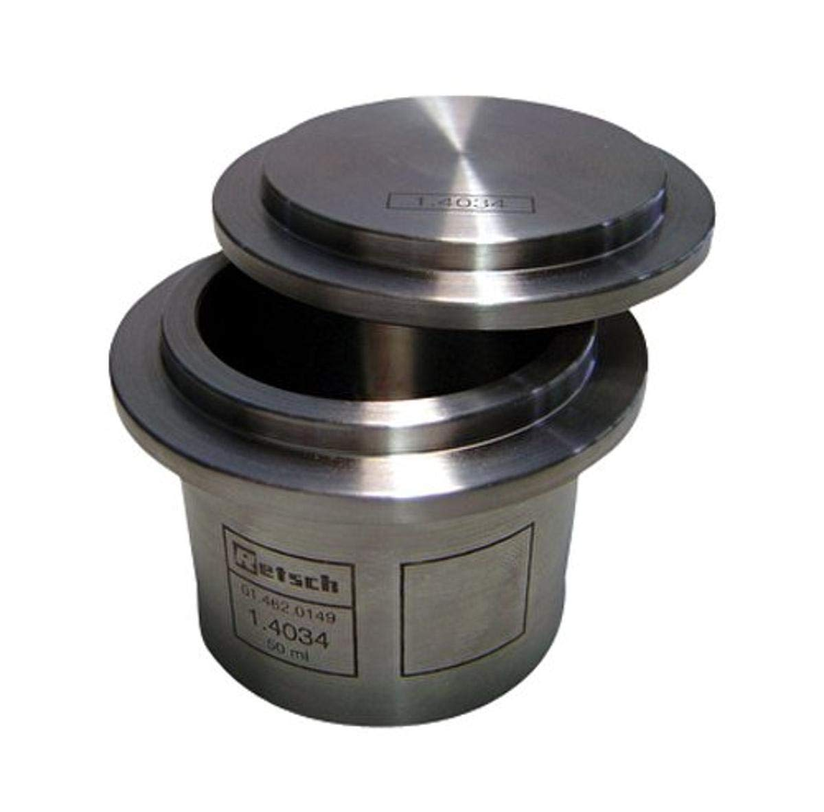 Spasm price Retsch 01.462.0149 Stainless Limited time trial price Steel Grinding 100 Jar for PM