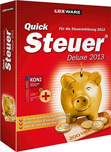 QuickSteuer Deluxe 2013 (für Steuerjahr 2012)