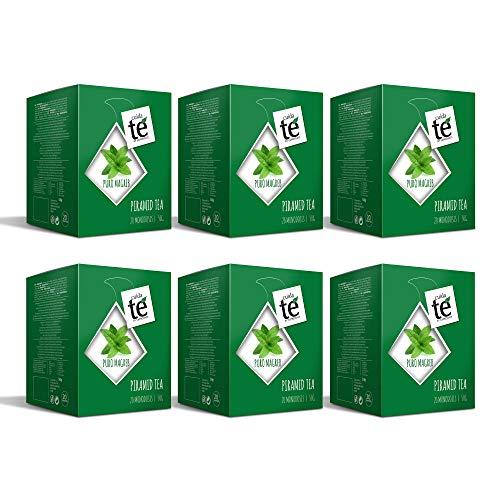 CUIDA TÉ - Te Verde en bolsitas, Moruno, Magreb, 120 bolsitas de Te Verde Magreb