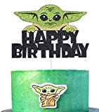 Anxdh alien war cake top hat decoration children birthday party decoration, alien war children theme party