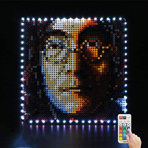 Kit de Iluminación LED para Lego 31198, Kit de Luces Compatible con Lego Art The Beatles (No Incluye Modelo Lego)