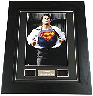 artcandi Superman Signed + Original Christopher Reeve Film Footage Limited Edition