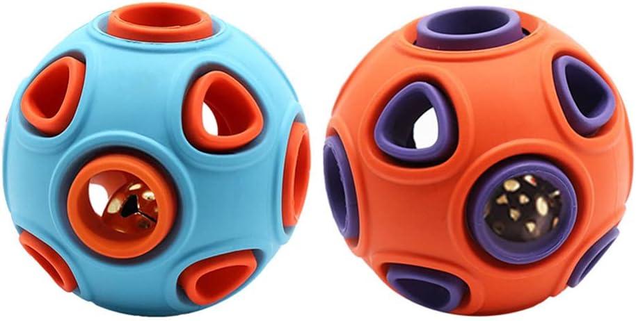 STOBOK 2PCS Dog Ball 5 popular Toys Pupp free shipping Squeaky Pet Chewing