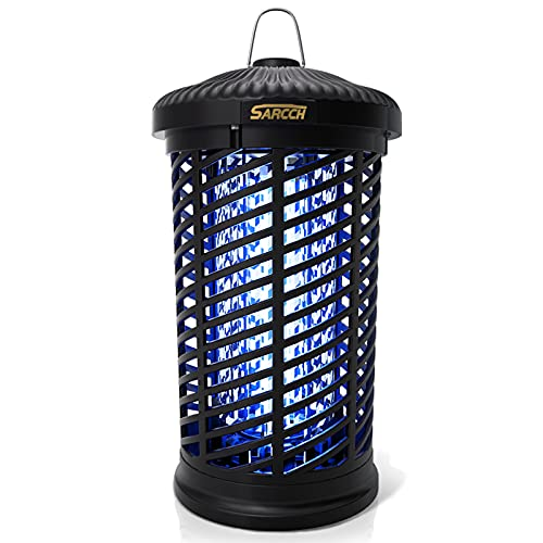 NAIYO Bug Zapper Outdoor, 4200V 18W High-Efficiency Electric Mosquito Killer, Waterproof Fly Trap, Suitable for Indoor, Outdoor, Patio, Garden, Courtyard and Other Places