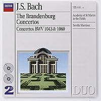 Bach: Brandenburg Concertos by Academy of St. Martin in the Fields (2001-06-12)