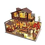 Majome Casas de muñecas de Madera 3D Ancient Town DIY Modelo en Miniatura Juguetes para niños