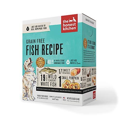 The Honest Kitchen Human Grade Dehydrated Grain Free Fish Dog Food 10 lb - Zeal