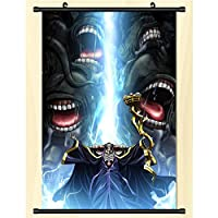 Overlords マンガオタクハンギングピクチャーズウォールポスターアートクロスアニメーションファンギフト 50x75cm