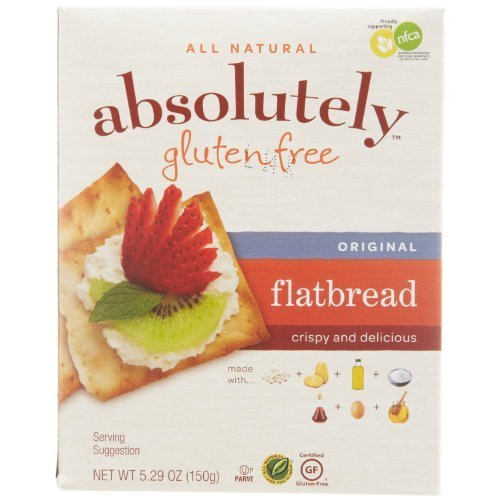 Absolutely Gluten Free Flatbread Original 5.29 Ounce (Pack of 12)