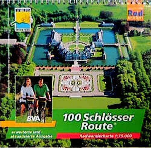 Preisvergleich Produktbild 100 Schlösser Route: Randwanderführer 1:75000