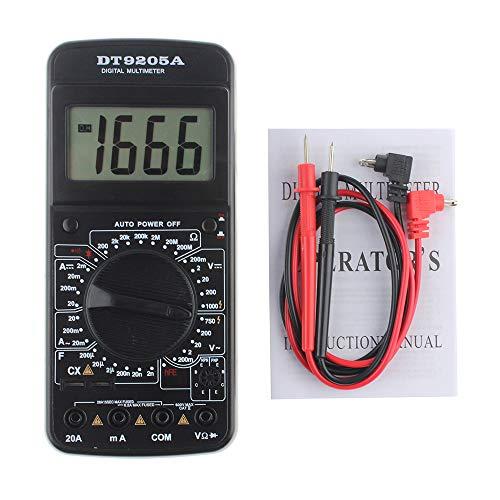 9205A Multimetro digitale portatile AC DC Tensione Corrente Resistenza Voltmetro Amperometro