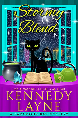 Stormy Blend (A Paramour Bay Cozy Paranormal Mystery Book 20) by [Kennedy Layne]