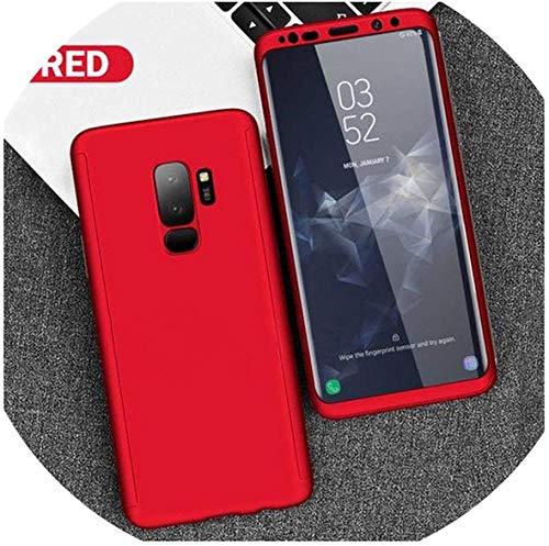 All-Equal - Funda para Samsung Galaxy A70 A60 A50 A30 M20 A8 A6 J4 J6 Plus A750 2018 S9 S8 S10 Plus S7 Edge Note 9 8-Red-A72018A750