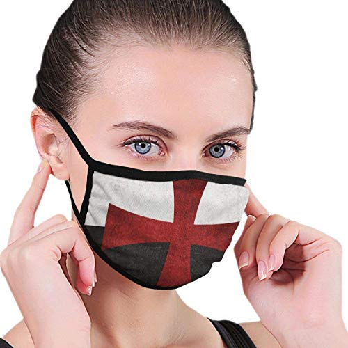 Gezichtsjaal zwart-wit vlag met rode ijzeren kruis werk moderne maandedekking lopen comfortabel paardrijden zonwerend wasbaar stofdicht herbruikbaar gezicht