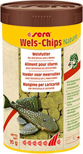 sera Wels-Chips Nature 250 ml