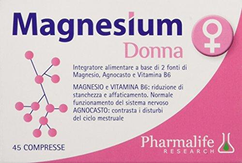 Pharmalife Magnesium Donna, 45 Compresse