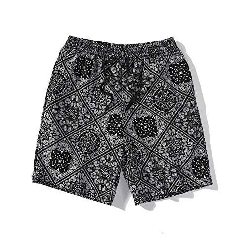 Pantalones para Hombre, Holgados, Informales, livianos, con cordón, para Playa, para Yoga, Pantalones Deportivos de Hip-Hop de Moda, con Bolsillo XL