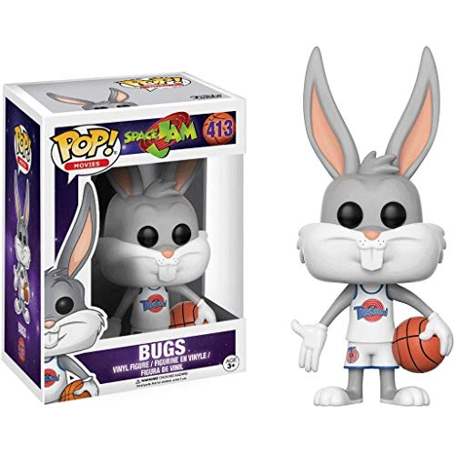 Lotoy Funko Pop Movie : Space Jam - Bugs 3.75inch Vinyl Gift for Basketball Fans Model