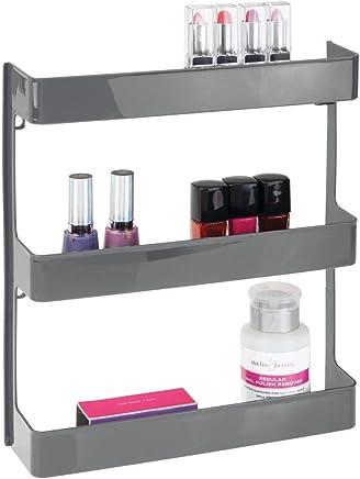 MDesign Meuble Pharmacie U2013 étagère Murale à Trois Niveaux U2013 Rangement Salle  De Bain Pour Produits
