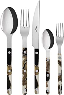 Sabre Bistrot Dune Black 5-Piece Place Setting