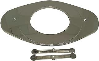 Danco, Inc. 80054 Faucet Cover Plate, Metal, Brushed Nickel,