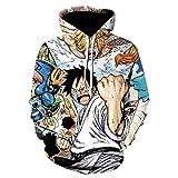 Anime One Piece Hoodies 3D Print Jerseys Ropa...