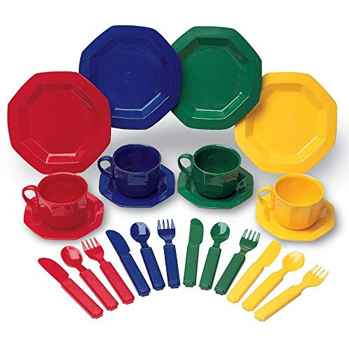 Learning Resources - Dinette Pretend & Play, LER0294 - Version Anglaise