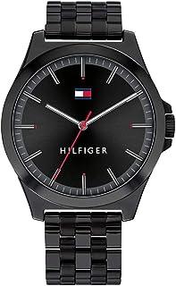 Tommy Hilfiger Mens Analogique Quartz Montre avec Bracelet en Acier Inoxydable 1791714