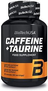 BioTech USA IAF00066101 Caffeine e Taurine, 60 Capsule