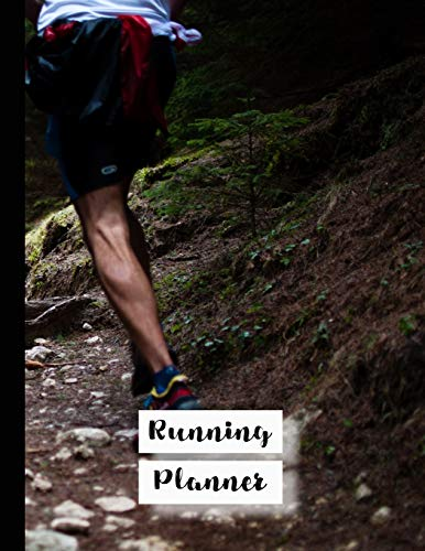 Running Planner: Runner planner diary for all your training logs - Rough terrain runners