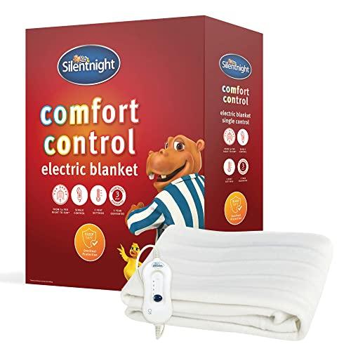 Silentnight Comfort Control Electric Blanket - Singl