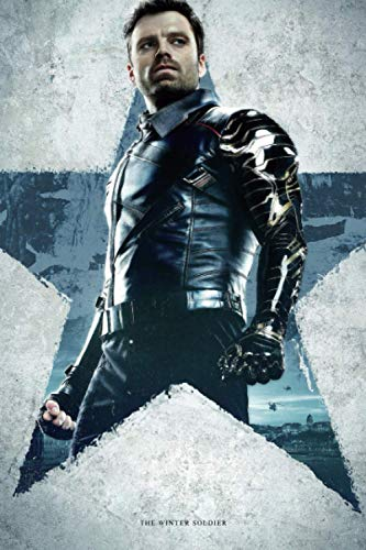 The Winter Soldier: Writing Journal • Notebook • Diary • Notepad • The Falcon and the Winter Soldier