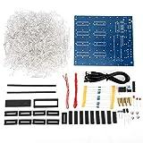 Light Strip Lights Kit, LED Light DIY Kit, 4.5-5.5V 3D Printed Circuit Board Stable Printed Parameter for 8 x 8 x 8CM Cubes